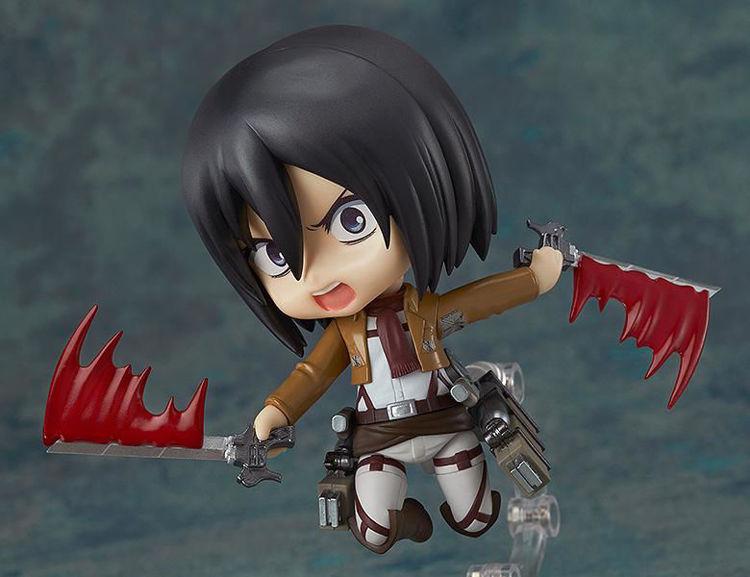 365 Attack on Titan Nendoroid Mikasa Ackerman