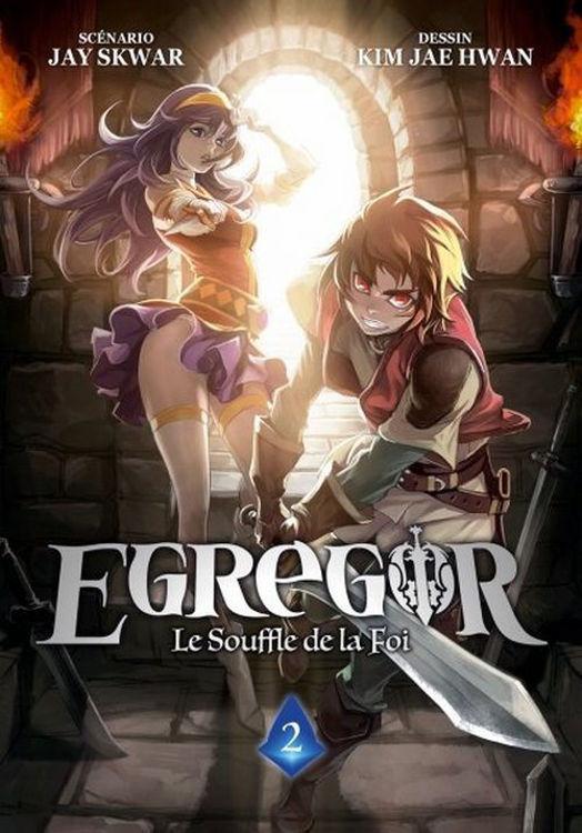 Egregor - Le Souffle de la Foi - Tome 02