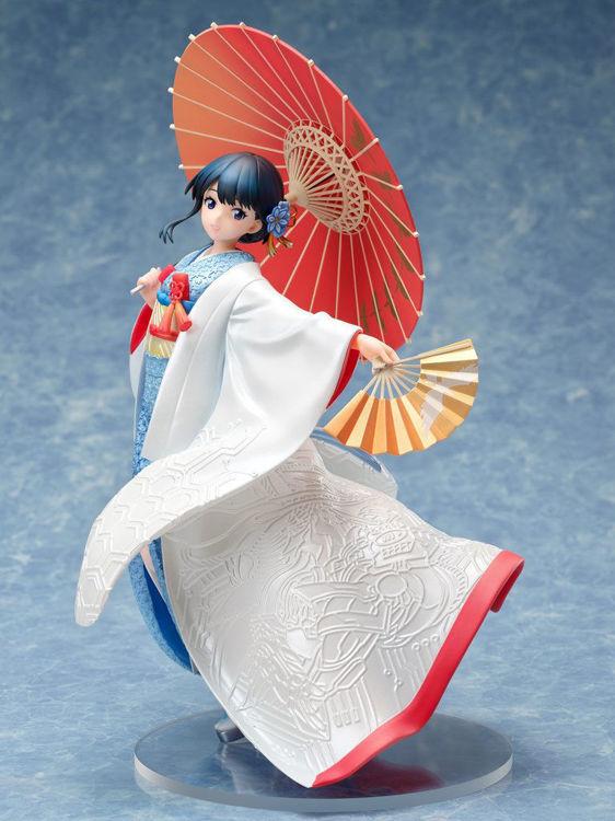 SSSS.GRIDMAN - Figurine Rikka Takarada: Shiromuku ver.