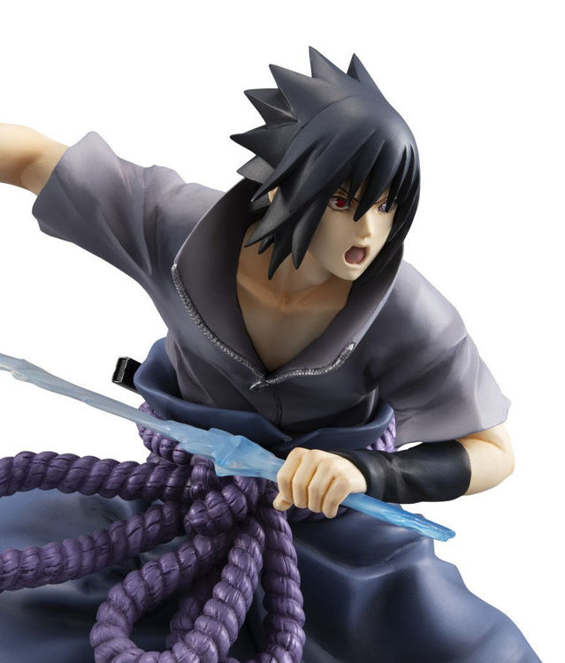 Naruto Shippuden - Figurine Sasuke Uchiha: Shinobi World War Ver.
