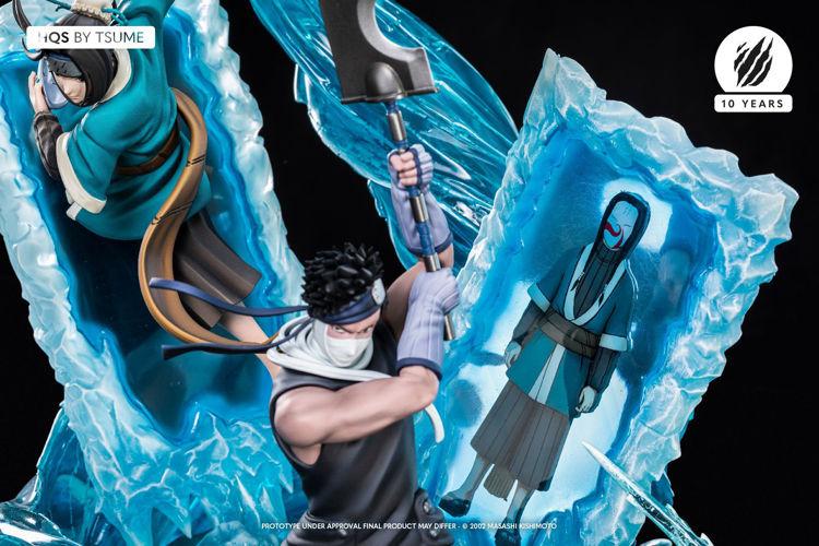 Naruto - Figurine Zabuza et Haku HQS