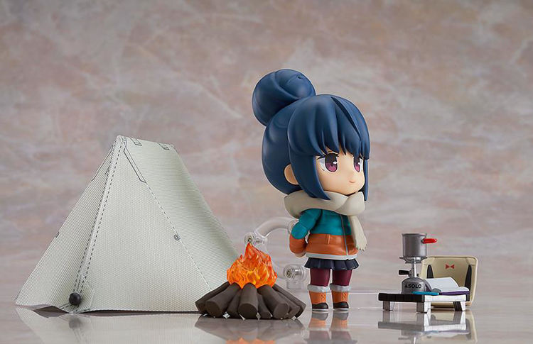 Yuru Camp - 981-DX Nendoroid Rin Shima DX Ver.