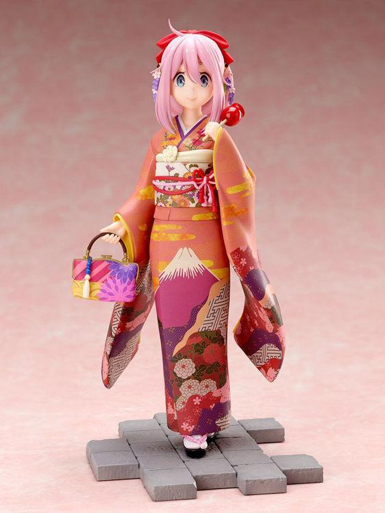 Yuru Camp - Figurine Nadeshiko Kagamihara Furisode Ver.
