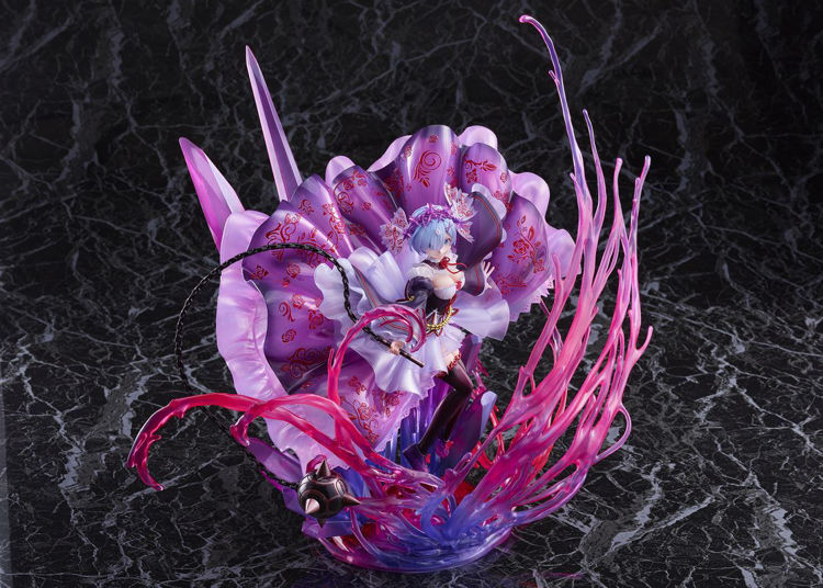 Re:ZERO -Starting Life in Another World- Figurine Demon Rem: Crystal Dress Ver.