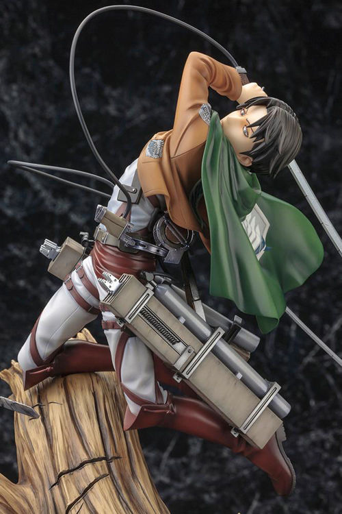 Image de Attack on Titan - Figurine Levi Ackerman : Renewal Package Ver.