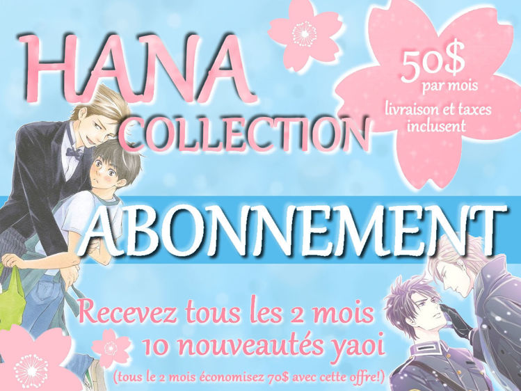 abonnement hana collection