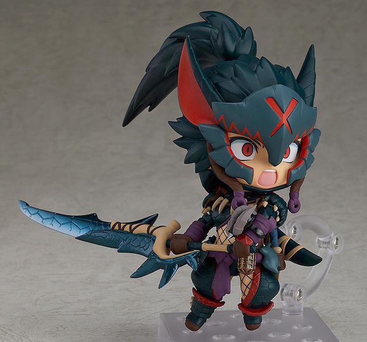 Monster Hunter World Iceborne - 1284 Nendoroid Hunter Female Nargacuga Alpha Armor Ver.