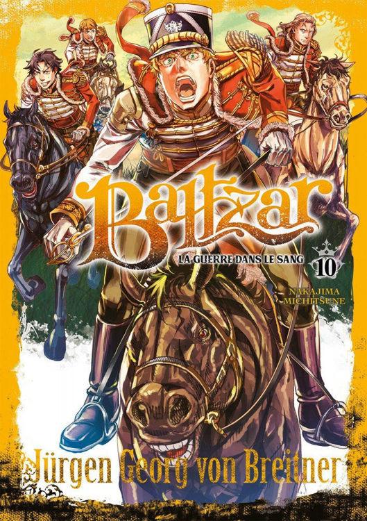 Baltzar - La guerre dans le sang - Tome 10