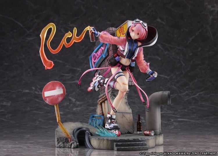Re:ZERO -Starting Life in Another World - Figurine Ram: Neon City Ver.