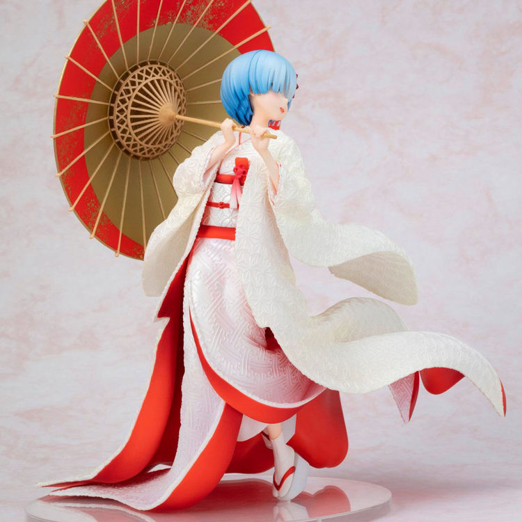 Re:ZERO -Starting Life in Another World- Figurine Rem : Shiromuku Ver.
