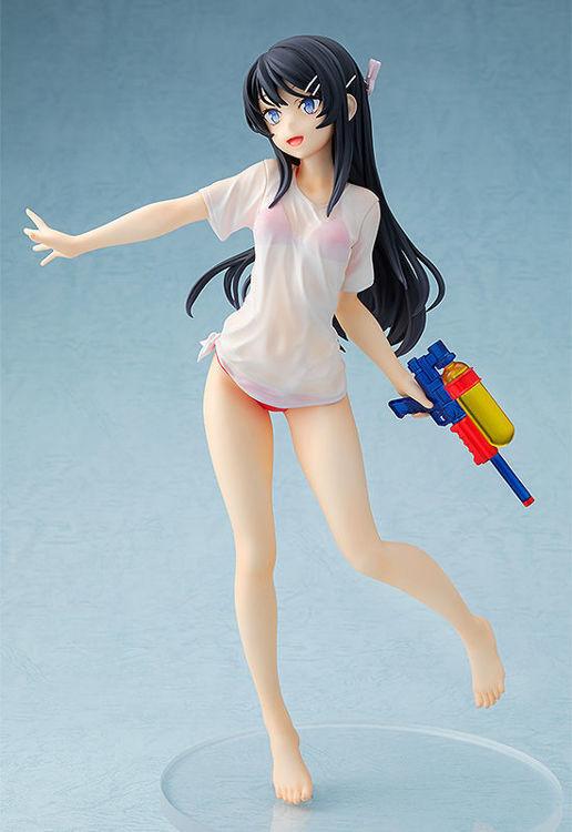 Rascal Does Not Dream of Bunny Girl Senpai - Figurine Sakurajima Mai : Water Gun Date Ver.